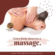 Therapeutic Hands - Mobile Massage Therapy In Home & Hotel Therapeutic Touch, Massage Marketing, Mobile Massage, Tummy Tucks, Massage Therapy, Feel Good, Health And Wellness, Improve Yourself, Spa