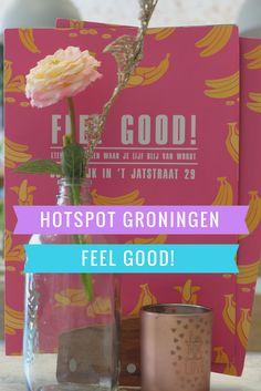 Feel Good is een super leuk lunchtentje in de Oude kijk in 't Jatstraat van Groningen. Een gezellige plek waar je ook als vegan terecht kunt. Door de tropische sfeer, die in de aankleding is toegepast, word je gelijk vrolijk.