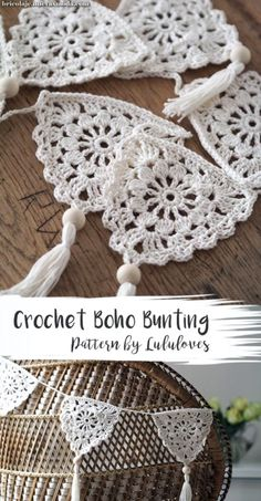 Crochet Pattern: Boho Bunting Related Posts:Urban Gypsy Boho Bag – Free Crochet PatternBoho Tank Top pattern by Breann MauldinUrban Nomad Boho Bag – Free Crochet PatternEasy Crochet Boho Circle Purse Pattern – Free…Crochet Bunting Pattern Blog Crochet, Crochet Diy, Crochet Motifs, Crochet Amigurumi, Crochet Gifts, Crochet Ideas, Crochet Tutorials, Crochet Squares, Crochet Bunting Pattern