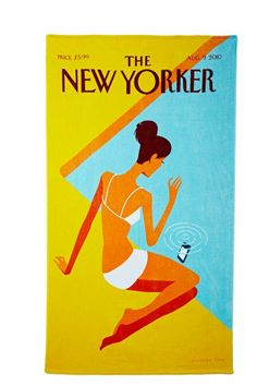 The New Yorker Dropped Call Towel