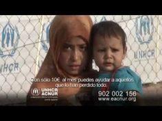 Hazte socio de ACNUR Comité Español - YouTube