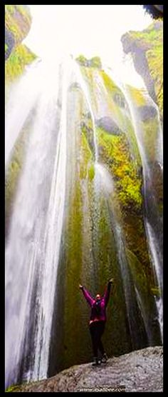 ICELAND ♦♦ WATERFALL ♦♦ Seljalandsfoss ♦♦♦ #POSTED BY BIANCA M. #SLEEPING SOUND UNDER SECRET ICELAND WATERFALLS | A MUST HAVE EXPERIENCE WHEN YOU VISIT ICELAND #travel wandering hiking  mountain rocks cliffs landscape nature amazing