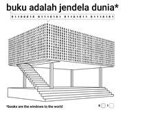 Architects: SHAU  Florian Heinzelmann, Daliana Suryawinata, Yogi Ferdinand with Rizki Supratman, Roland Tejo Prayitno, Aditya Kusuma, Octavia Tunggal, Timmy Haryanto, Telesilla Bristogianni, Margaret Jo, Angga Rosiawan, Aistyara Charmita Location: Taman Bima, Bandung, Indonesia Budget: 40,000 EUR Project end date: 15 September 2015 Area: 160 m2 (including stage) Client: City of Bandung Sponsors: Dompet Dhuafa (Pocket for the Poor) Urbane Community Indonesian Diaspora Foundation (IDF) Signage…