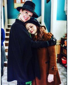 Zelena and Belle - Once upon a time