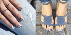 Best Summer Nail Art on Instagram - 12 inspiring looks from Instagram's most creative manicurists.