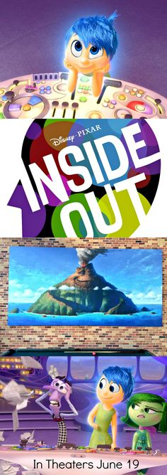 Disney Pixar's INSIDE OUT + LAVA Featurette Is What We've Been Waiting For! Pixar animation at it's finest #PixarInsideOut #InsideOut In theaters June 19, 2015