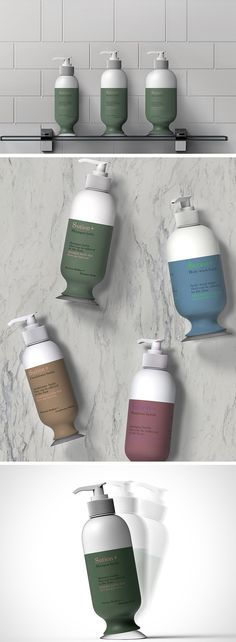 The Suction Shampoo Bottle introduces a simple suction cup onto the bottom of the bottle so it stays put. Just press it on any surface and use the pump to dispense your shampoo, conditioner or soap without any slipping!