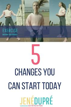 Here are 5 Health and Fitness changes you can start TODAY! It is never too later to start a health and fitness lifestyle! Here are the 5 changes that can be done today! #health #fitness #healthy #workout #changes #healthylifestyle Exercise Motivation, Health Motivation, Health And Wellness, Health Fitness, Body Tips, Positive Body Image, Healthy Lifestyle Changes, Body Hacks, New Things To Learn