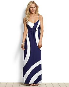Tommy Bahama - Reggae Whirl Maxi Dress... Can not wait to wear this on our sunset cruise in Antigua!