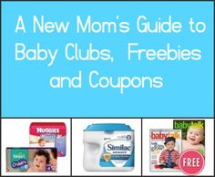 A must-have list of baby clubs, freebies and coupons for pregnant & new moms!