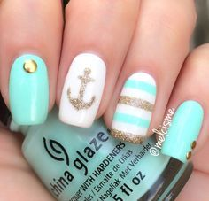 trendy summer nail art designs 2016