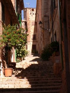 Soller-Mallorca. Went here this summer and I'll be damned if it wasn't the nicest little town ever.