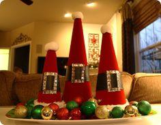 Santa hat craft