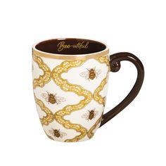 Joe Coffee, Coffee Cups, Coffee Time, Tea Holder, Black Tea Bags, I Love Bees, Insulated Cups, Bee Gifts, Unique Coffee Mugs