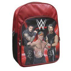 ¡Los luchadores más fuertes de la WWE te esperan para volver al cole!