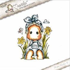 The Rubber Buggy  - Pre-Order Magnolia Stamps - Sakura - Lazy Tilda, $10.99 (http://www.therubberbuggy.com/pre-order-magnolia-stamps-sakura-lazy-tilda/)