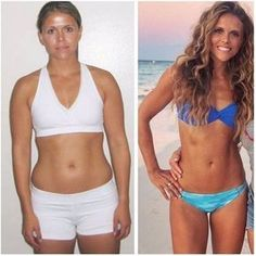 Tone It Up Before and After Weight-Loss Photos http://www.erodethefat.com/blog/4offers/