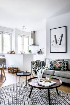 how to make a small living room look bigger on domino.com