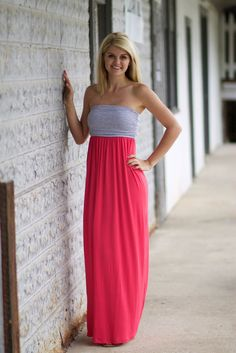 """Country Color"" Maxi Dress"