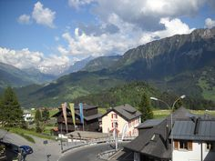 Leysin, Switzerland, one of my favorite places! They open their stores late, take long lunches, and close early!! They know there are more important things to life and that it's too short as it is...