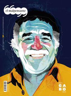 Gabriel García Márquez (Gabo) illustration for El Malpensante magazine… Portraits Illustrés, Vector Portrait, Grid Design, Graphic Design Studios, Portrait Illustration, Love Painting, Ancient Art, Art Direction, Art Inspo