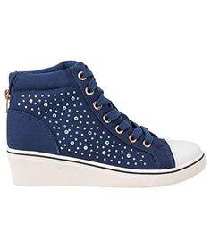 SALE Damen Sneaker Basketballschuhe_(16294-NVY-4) - http://on-line-kaufen.de/krisp/37-eu-sale-damen-sneaker-basketballschuhe-7