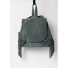 Apache suede backpack