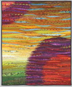 The Quilts of Ann Brauer: Finally.....two suns--quilt--ann brauer--2016