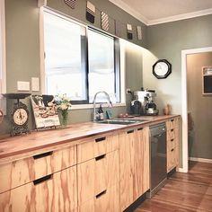 Motide Raglan delivers locally designed and manufactured kitchens, interior design and furniture. Plywood Kitchen, Plywood Cabinets, Pine Plywood, Wood Interiors, Fun At Work, Finish Line, Home Kitchens, Minimalist, Interior Design