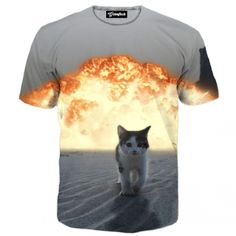 Cat Explosion Tee