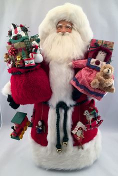Christmas Past Santa - pinned by pin4etsy.com