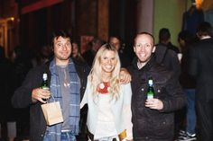 Lucy and guests at the PIZZA FW13 launch party !!