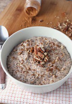 """Cinnamon Roll """"Oatmeal""""   Shared via http://www.ruled.me/"""