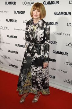 Pin for Later: Seht all' die Girl Power bei den Glamour Awards Anna Wintour