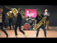 Lucky Chops Band - Grand Central 4/2/15