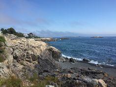 Die Atlantikküste bei Marble Head