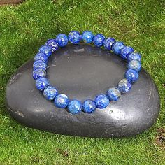 Lapis Lazuli Gemstone Healing Bracelet for Harmony and Lapis Lazuli Healing, Handmade Bracelets, Handmade Jewelry, Gemstone Jewelry, Silver Jewelry, Lapis Lazuli Bracelet, Healing Bracelets, Gemstone Engagement Rings, Photo Jewelry