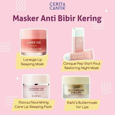 skin care tip Lip Care, Body Care, Beauty Care, Beauty Skin, Learn Makeup, Lip Sleeping Mask, Face Care Routine, Les Rides, Makeup Ideas