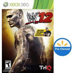 WWE '12 (Xbox 360) - Pre-Owned: Xbox 360 : Walmart.com