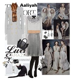 """""""Aaliyah 2016-541"""" by aaliyah ❤ liked on Polyvore featuring Odette, Balmain, Michael Kors, Misha Nonoo, Dolce&Gabbana, 3.1 Phillip Lim, Chanel, Oscar de la Renta, Forest of Chintz and NYX"""