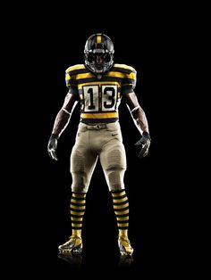 NIKE, Inc. - Pittsburgh Steelers to show off unique throwback uniforms this weekend