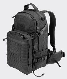 DIRECT ACTION Ghost® Backpack - Cordura® - Black: Amazon.de: Sport & Freizeit