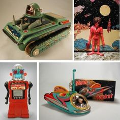 Retro-Futuristic Space Toys of the 50's | Table Of Malcontents | Wired.com