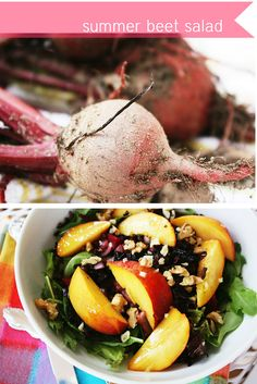 Beet Salad.  Soo Good for you!!