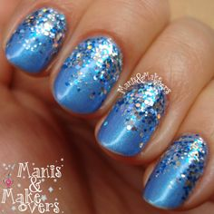 Manis & Makeovers: Spacey Sparkles http://manisandmakeovers.blogspot.com/2014/03/spacey-sparkles.html
