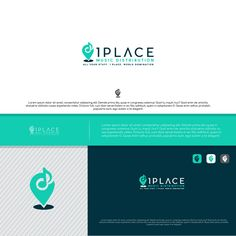 1Place Music Distribution - Logo by casign