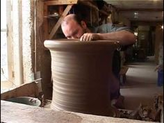 Whichford Pottery: How we make our pots - Traditional Terra Cotta in a production setting, includes how they mix their clay