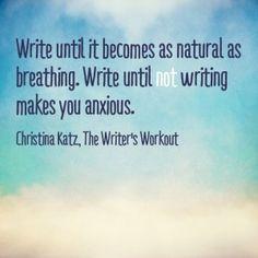 Write Like You Breathe by Christina Katz