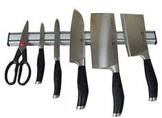 Ouddy 15 Inch Magnetic Knife Bar   Aluminum Magnetic Knife Holder   Magnetic  Knife Strip Ouddy