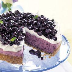 Dessert-No Bake Blueberry Cheesecake